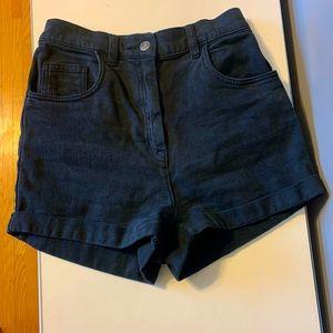 Aritzia Wilfred Super High Waisted Shorts